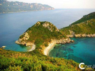 Κέρκυρα Παραλίες Παραλία Αφιώνας (Πόρτο Τιμόνι)