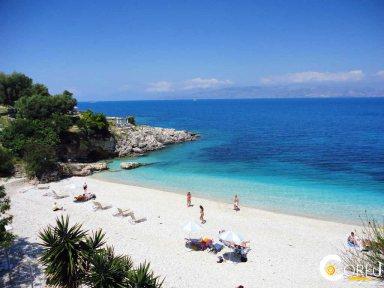 Κέρκυρα Παραλίες Παραλία Μπαταριάς (Κασσιώπη)
