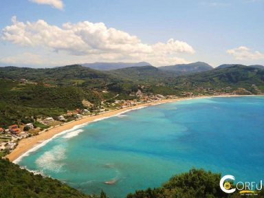 Korfu Agios Georgios Pagon - North Strand Agios Georgios(St.George) Pagon