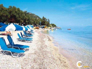 Korfu Agios Ioannis Peristeron Strand Agios Ioannis (Saint John) Peristeron