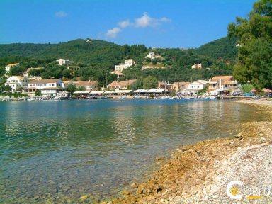Korfu Agios Stefanos NE Strand Agios Stefanos Sinion