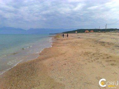 Korfu Almyros Strand Almyros