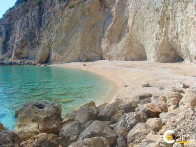 Korfu Palaiokastritsa - Paleokastritsa Strand Big Castelli (Palaiokastritsa)