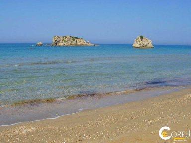 Corfu Prasoudi Beach Prasoudi
