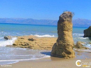 Керкира Roda Пляж Рода