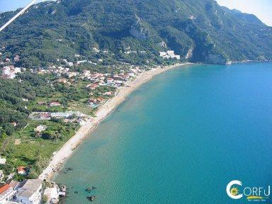 Korfu Beaches Strand St. Gordios oder Agios Gordios