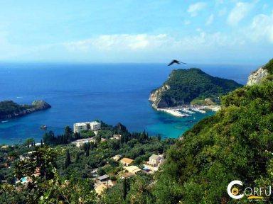 Korfu Agios Stefanos NE Strand Agios Spyridon (NW)