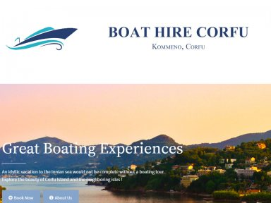 Керкира Transportation Boat Hire Corfu