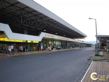 Corfu Corfu port Corfu International Airport CFU Ioannis Kapodistrias
