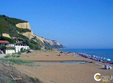 Corfu Vitalades Gardenos beach