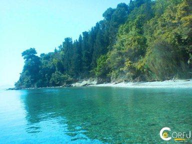Corfu Kardaki beach