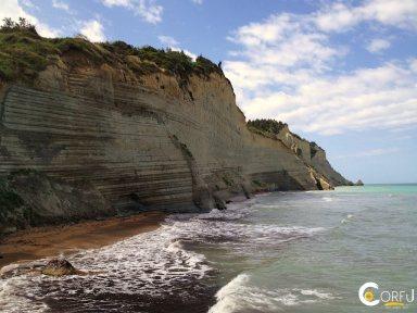 Κέρκυρα Παραλίες Παραλία Λογγάς (Περουλάδων)