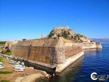 Korfu Liston Alte Festung