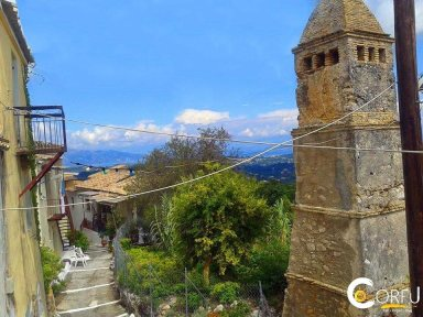 Corfu Sightseeing Villages - Places Pelekas