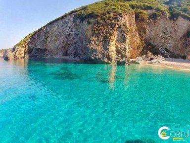 Κέρκυρα Παραλίες Παραλία Στελάρι