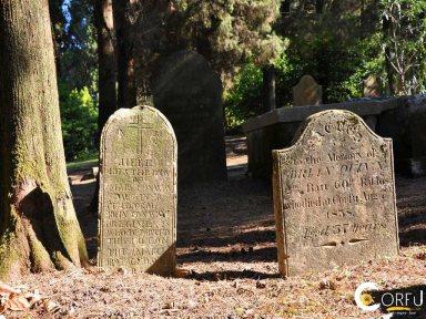 Британское кладбище в Корфу