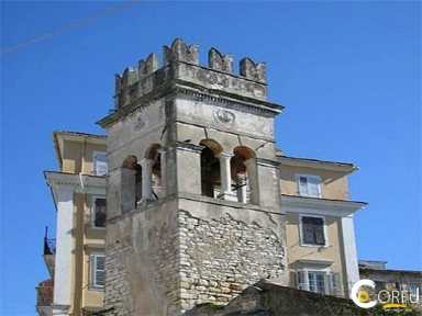 Korfu Arts - Culture Historical Buildings - Monuments Dem Glockenturm der Anoutsiata