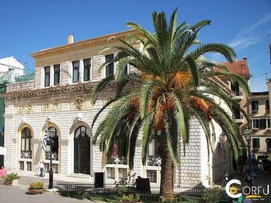 Corfu Arts - Culture Historical Buildings - Monuments The Theater of San Giacomo
